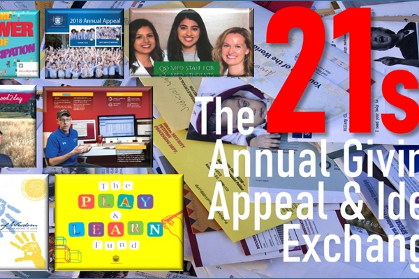 Join Bob's 2020 Annual Giving <br>Appeal & Idea Exchange