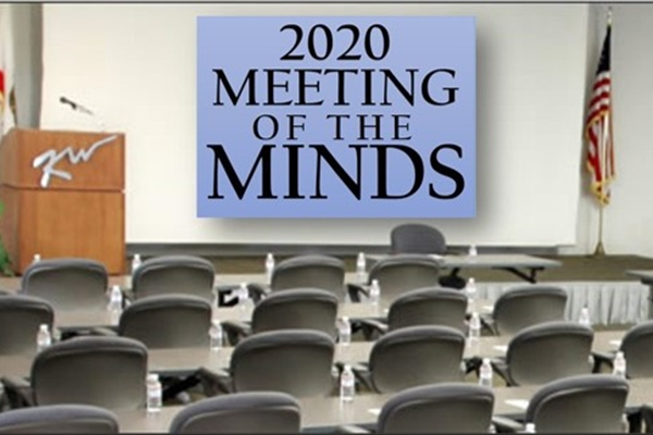 The 2020 Meeting of the Minds <br>Became a Couch Conference!