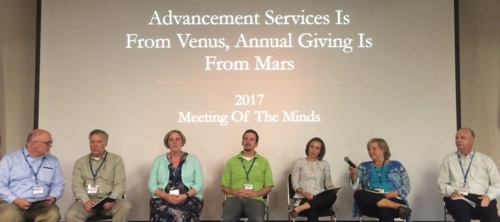 "2018 ""Meeting of the Minds"" West Coast Annual Giving & Advancement Services Conference"